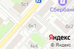 Схема проезда до компании Selfie в Москве
