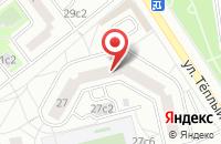 Схема проезда до компании Информационный Центр Хоккей в Москве