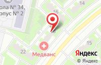 Схема проезда до компании Суши Wok в Подольске