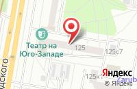 Схема проезда до компании Астарс в Москве
