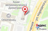 Схема проезда до компании Бс-Пром в Москве