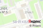 Схема проезда до компании Амарант в Москве