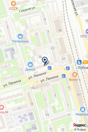 СТРАХОВАЯ КОМПАНИЯ ЕВРОПА на карте Лобни