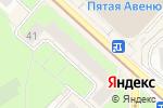 Схема проезда до компании Кудряшка в Москве