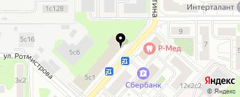 Семал на карте Москвы