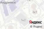 Схема проезда до компании Фиреро в Москве