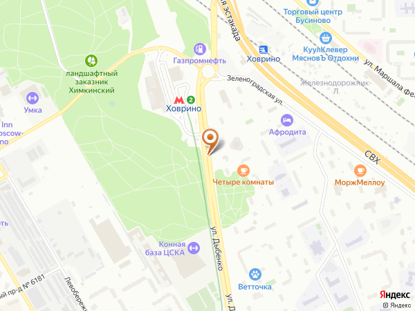 Остановка 19-й квартал в Москве