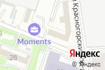 Схема проезда до компании Э-Лифт в Москве
