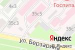Схема проезда до компании Главный клинический госпиталь МВД РФ в Москве