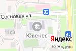 Схема проезда до компании Ювенес в Москве
