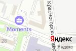 Схема проезда до компании Kolesnaya.ru в Москве