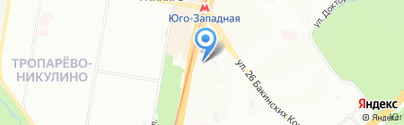 Аптемир на карте Москвы