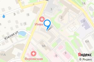 Снять двухкомнатную квартиру в Яхроме Дмитровский г.о., ул. Конярова, 7
