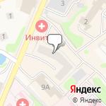 Магазин салютов Яхрома- расположение пункта самовывоза