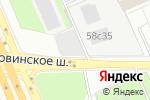 Схема проезда до компании Байк Ленд в Москве