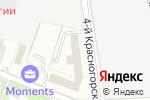 Схема проезда до компании КомплектТентСервис+ в Москве