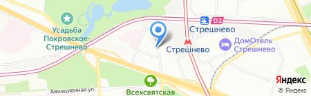 КомплектТентСервис+ на карте Москвы
