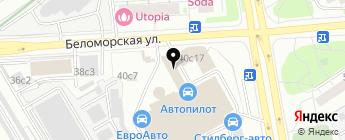 Капитан запчасти на карте Москвы