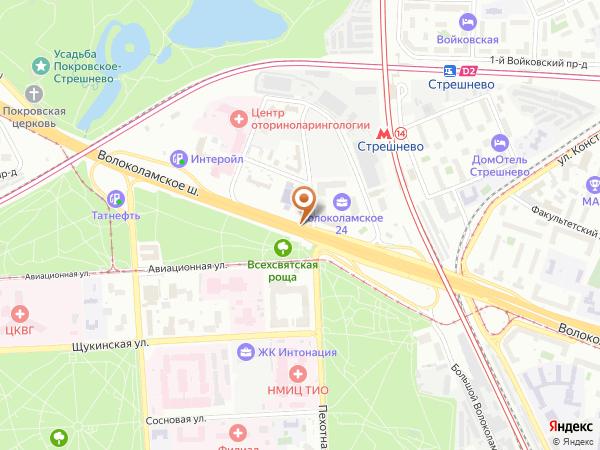 Остановка Пехотная ул. в Москве