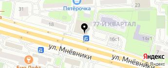 Автокэмп на карте Москвы
