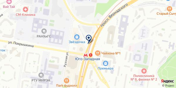 Банкомат, Сбербанк, ПАО на карте Москве
