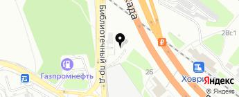 Колесо на карте Москвы