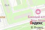 Схема проезда до компании МАНЕВР в Москве