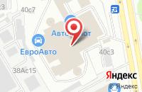 Схема проезда до компании М2 в Москве