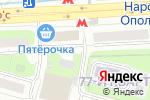 Схема проезда до компании Пивбург в Москве