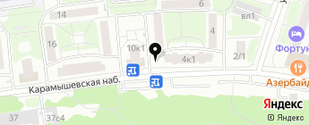 Миля на карте Москвы