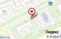 Схема проезда до компании Сэнди в Подольске