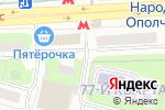 Схема проезда до компании Galart Studio в Москве