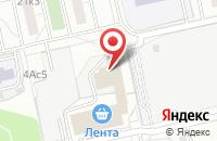Схема проезда до компании Вингурис в Москве