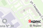Схема проезда до компании Мастерская красоты №1 в Подольске