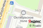 Схема проезда до компании ИнжСтройКомплект в Москве