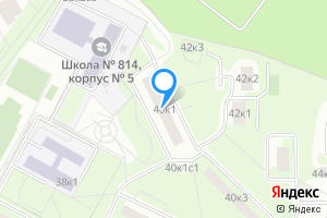 Двухкомнатная квартира в Москве м. Минская, Веерная улица, 40к1