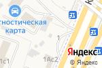 Схема проезда до компании Дайринг в Москве