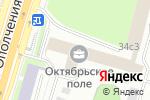 Схема проезда до компании Фасадика в Москве