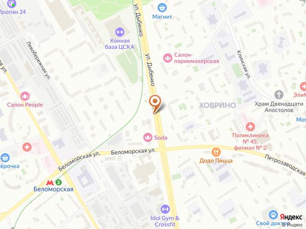 Остановка «Ул. Дыбенко, 6», улица Дыбенко (1008854) (Москва)