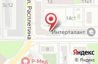 Схема проезда до компании Диамант-Строй в Москве