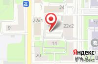 Схема проезда до компании Европейская Группа Ускорения Эволюции в Москве
