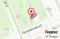 Схема проезда до компании Национальная Технологическая Корпорация «Сирена» в Москве