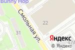 Схема проезда до компании FunkyBus в Москве