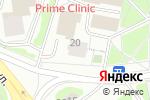 Схема проезда до компании Мир шариков в Москве