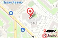 Схема проезда до компании Инвест Сервис в Москве