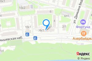 Сдается комната в трехкомнатной квартире в Москве Карамышевская наб, 4к1
