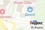 Схема проезда до компании Магазин хозяйственных товаров на Веерной в Москве