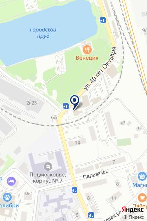 ЛОБНЕНСКИЙ ОТДЕЛ ВНУТРЕННИХ ДЕЛ (ОВД) на карте Лобни