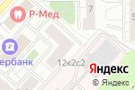 Схема проезда до компании Библиотека №52 в Москве