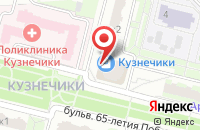 Схема проезда до компании Ювелирная мастерская в Подольске